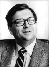 Portrait of David Lange.