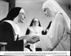 "Anne Bancroft i filmen ""Agnes of God"""