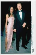 Barbara and Boris Becker at the Vanity Fair Party