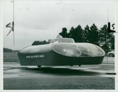 A United States Army Hovercar