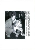 Golfer Ian Baker-Finch with his daughter Hayley