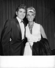 Michael Landon with wife Lynn.