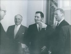 Andrei Gromyko at Geneva conference.