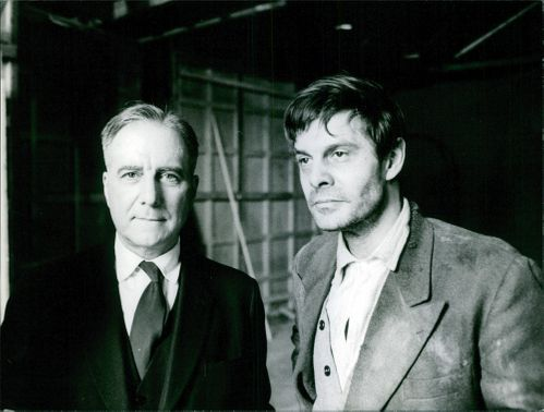Two men photographed together.