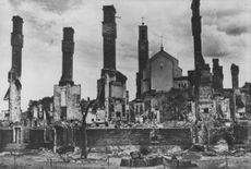 Buildings of Finland after the battle.