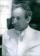 A Photograph of Mr. John Surteers. One of the world's top ten drivers.