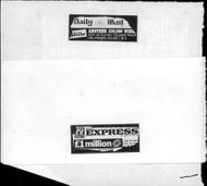 Clipboard from the British newspapers Daily Mail and Daily Express