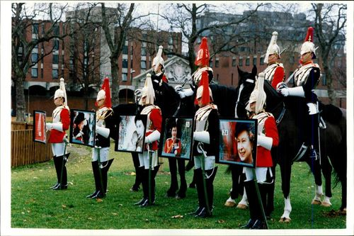 Life Guards, Blues, Royals and Royal Mail Ilonours.