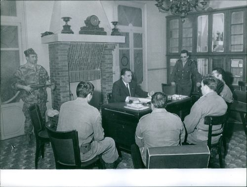 A MEETING WITH HEAD OF ARMY