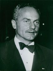 Portrait of a Vice President in charge of Production, Darryl Francis Zanuck.