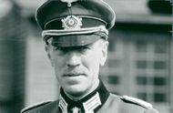 "Max von Sydow in the movie ""Escape to Victory"""
