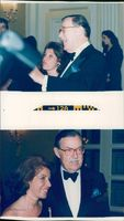 Alan Whicker and valerie