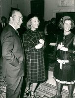 Sigvard Bernaddtte with Wife and Rosario Orty