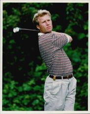 Golf player Per-Ulrik Johansson