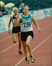 SM in Athletics. Susanna Kallur, Falu IK at 100m