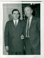 Soviet Foreign Minister Gromyko together with Lord Alec Douglas-Home