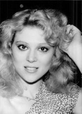 Portrait of Audrey Landers.