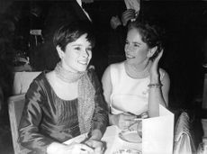 Geraldine Chaplin with her mother.