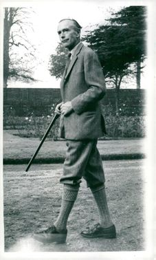 British Prime Minister Sir Alec Douglas-Home in Hunting Quarry