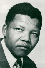 Portrait image of Nelson Mandela taken in an unknown context.