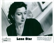 """Elizabeth Pena is Pilar Cruz, a Frontera, Texas school teacher who must come to terms with a love from her past in John Sayle's murder-mystery """"Lone Star."""""""