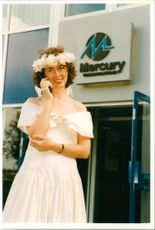 Wiltshire Louise Baber in Telephone Companies: Mercury Communications.