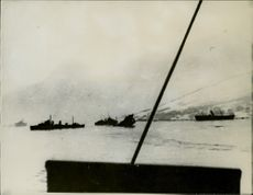 Second Battle of Narvik, Shipwrecks, Narvik Harbor.