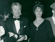 Kenneth More together with his wife Angela