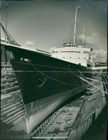 First overhaul for royal yacht.