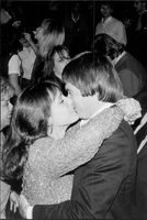 "Jimmy Connors with Mrs Patti at the nightclub ""Xenon"" in New York"