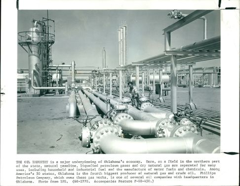 The Oil Industry is a major underpinning of Oklahoma.