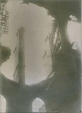 Ruins of a cathedral. 1927