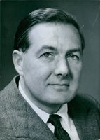 British politician, Leonard James Callaghan. 1961.