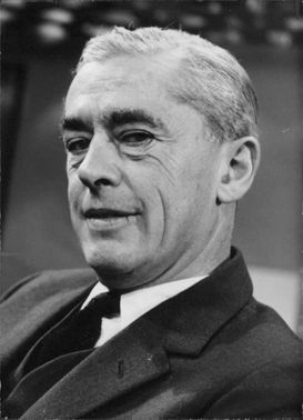 Portrait of Goronwy Rees.
