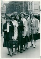Schools 1980-1987:Louise smith and Lynn malcolm.