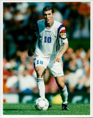 Zinedine Zidane, French football player