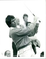 Golfer Ian Baker-Finch during 113th Open Championship
