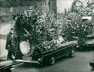 Maurice Chevalier's funeral