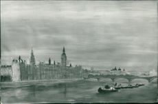 Houses of parliament by henri D orleans.