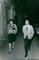 Princess Soraya with man.