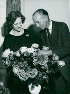 Sir Alec Douglas-Home with wife Lady Douglas-Home