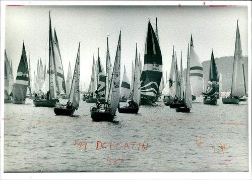 The 100th Round the Island Race.