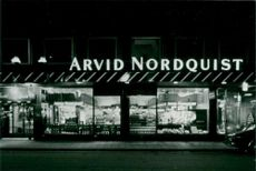 Company: Arvid Nordquist. Due to urban changes, the shop was moved to Östermalmstorg during the 1960s