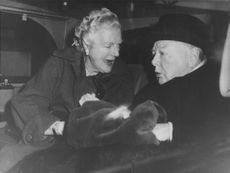Winston Churchill with a woman.