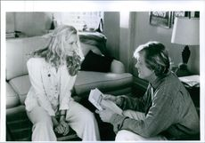 Film I'll Do Anything which stars Joely Richardson and Nick Nolte talking to each other. 1994