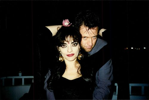 Nina Hagen and Gordon Polk