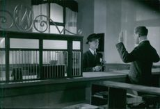 A scene from the film Resan bort.1945