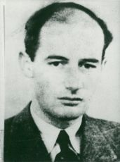 Portrait image of Raoul Wallenberg taken in an unknown context.