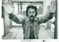 "Dustin Hoffman as Max Dembo in Ulu Grosbard's gangster movie ""Straight Time""."