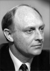 Portrait of Neil Gordon Kinnock, Baron Kinnock.